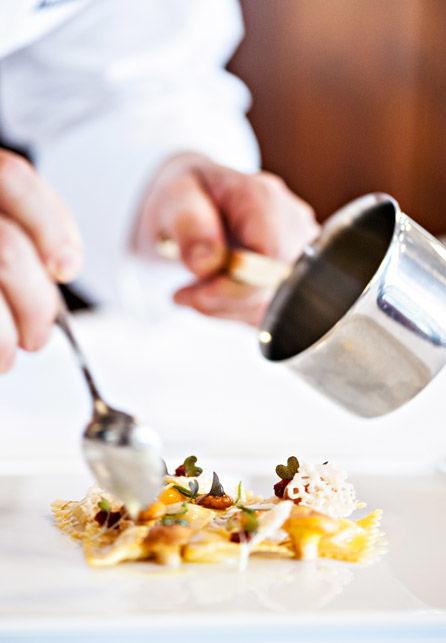 Beispiel: Küchenimpression, Foto: Hotel Chlosterhof.