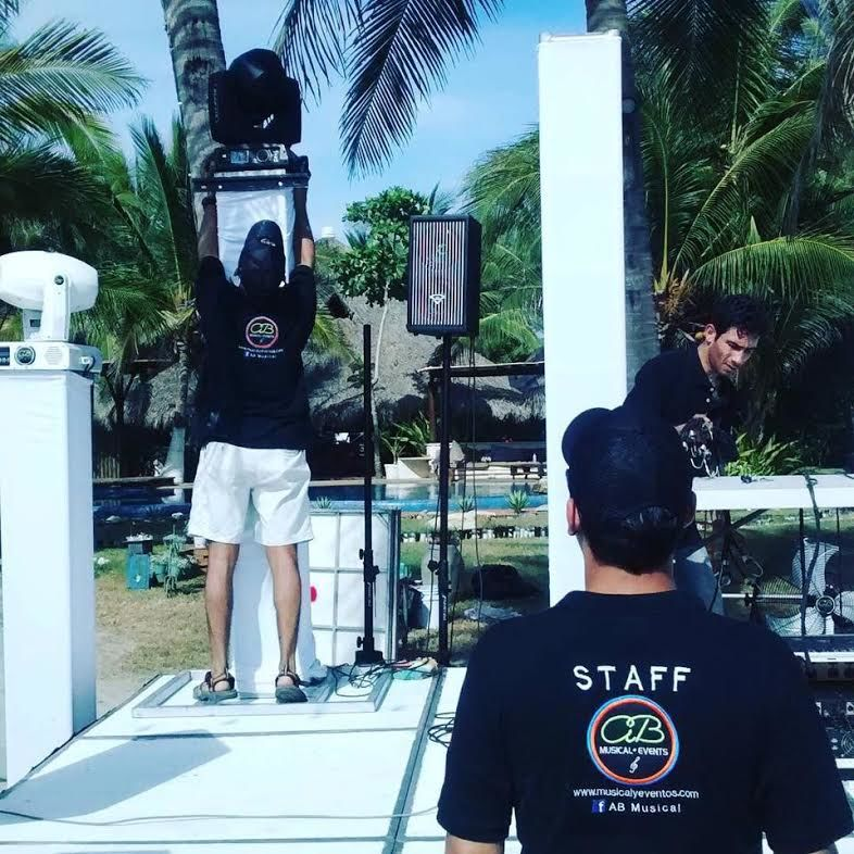 Staff AB Musical Yalma Kaan Acapulco