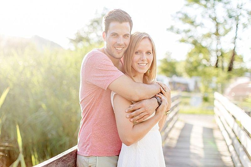 Paarfotos natürliches Licht couple in love Luzern