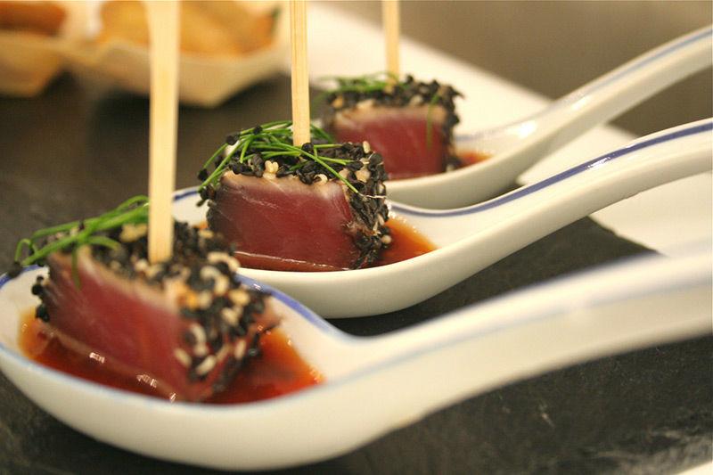 Beispiel: Auserlesene Gerichte, Foto: Brunckhorst Catering.