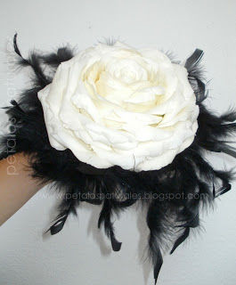 Rosmelia blanca fresca