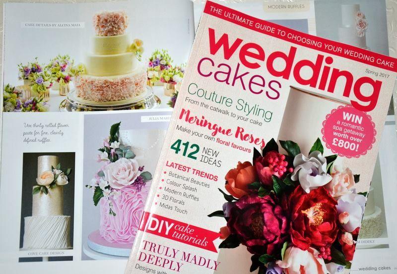 Cake Details em Wedding Cakes Spring 2017