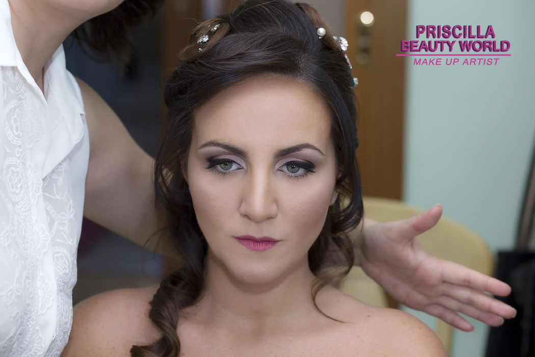Priscilla Beauty World: Make Up Sposa Cristina