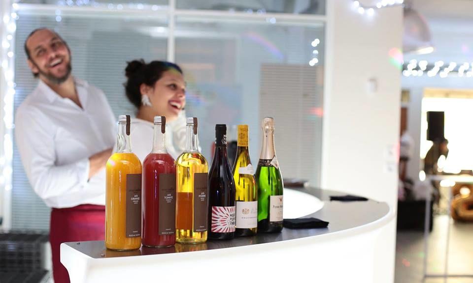 Bar lumineux et boissons Jéroboam Event