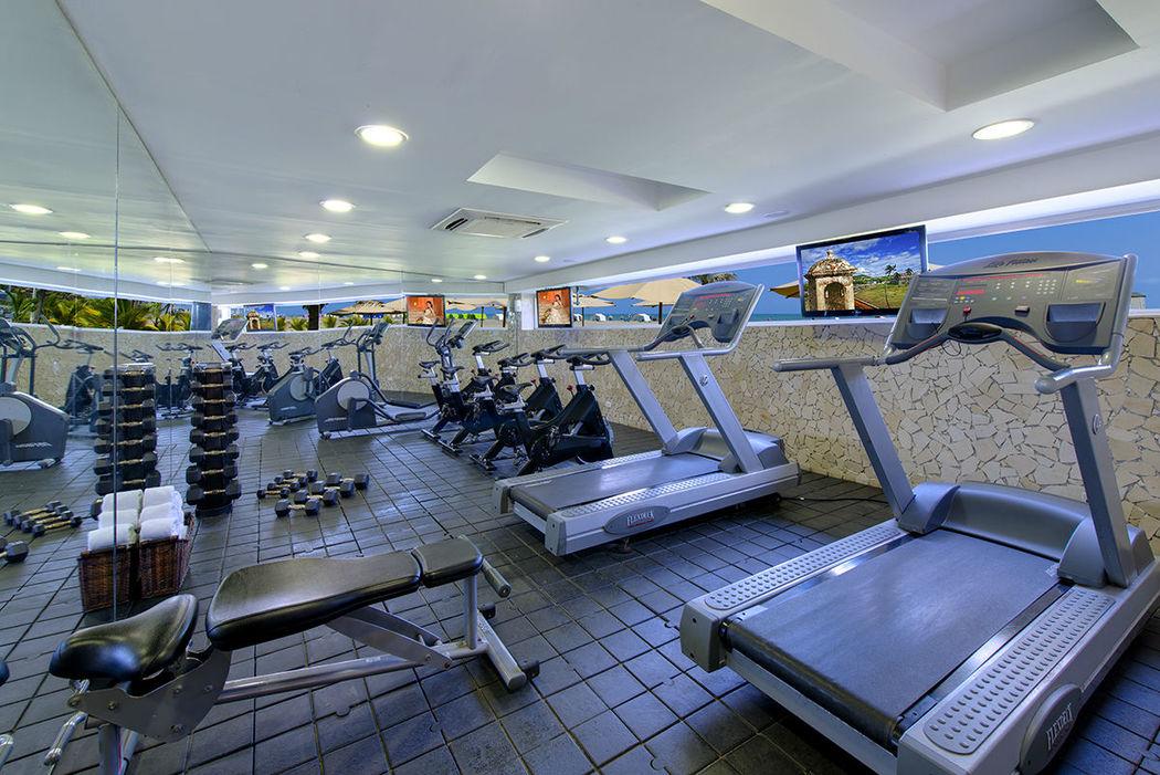 Nuestro amplio y moderno gimnasio está abierto 24 horas