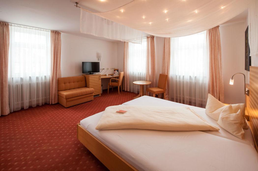 Beispiel: Hotelzimmer, Foto: Landschloss Korntal.