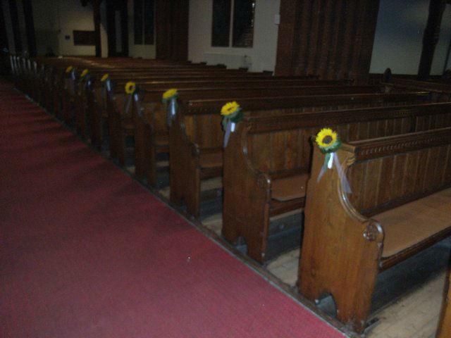 Beispiel: Kirchenschmuck, Foto: Blatt & Blüte.