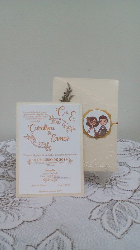 Tarjetas Carolina