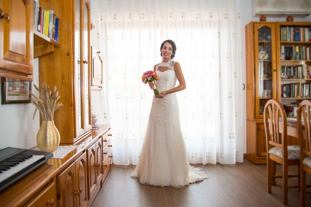 La novia radiante- OhQueFoto