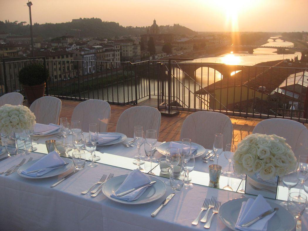 Ricevimento Terrazza Panoramica Arno