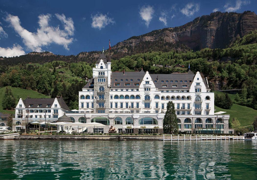 Beispiel: Außenansicht, Foto: Park Hotel Vitznau.