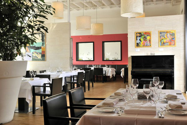 Beispiel: Innenraum, Foto: Magnolia - Restaurant im Glaspalast.