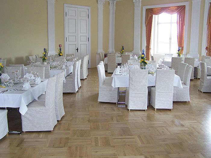 Beispiel: Rittersaal, Foto: Schloss Boitzenburg.