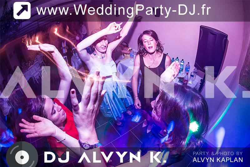DJ Alvyn K. Wedding Party