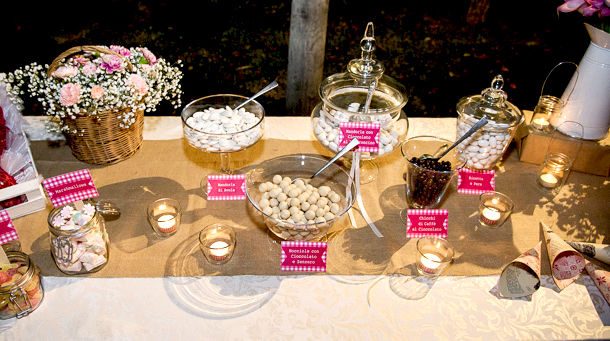 Pink Country Wedding