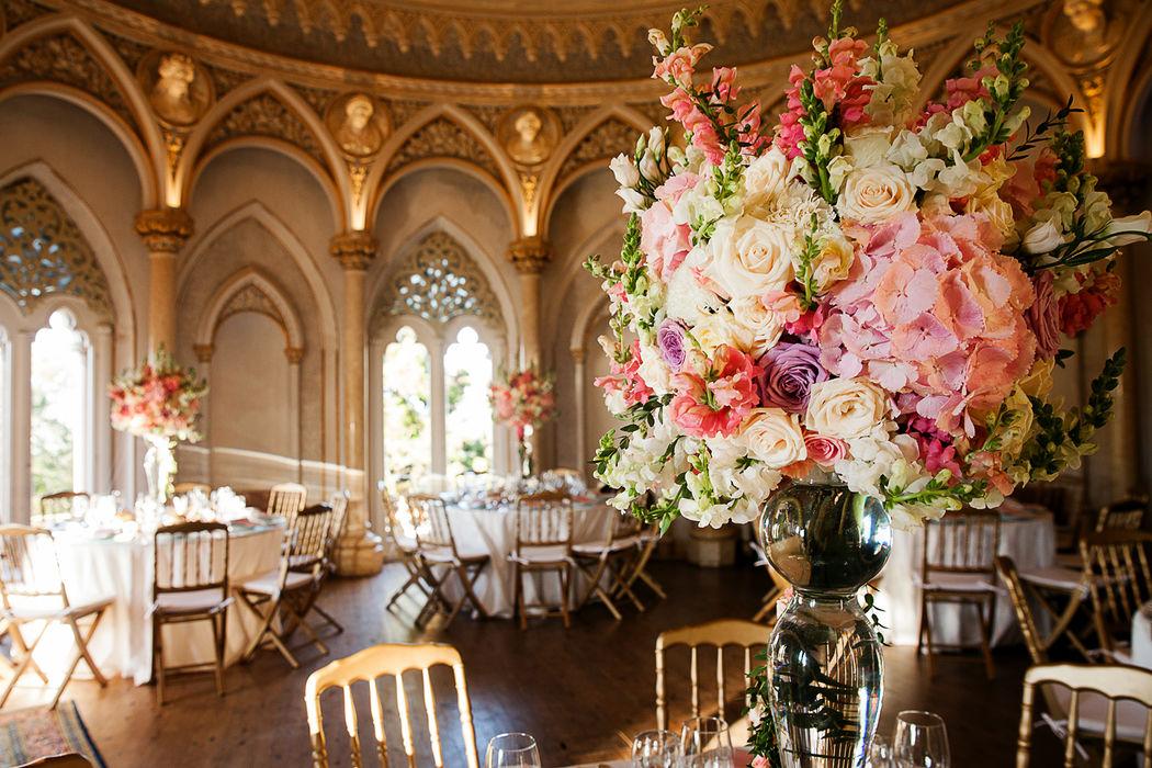 Dream Weddings Europe - Décoration table mariage dans un palace