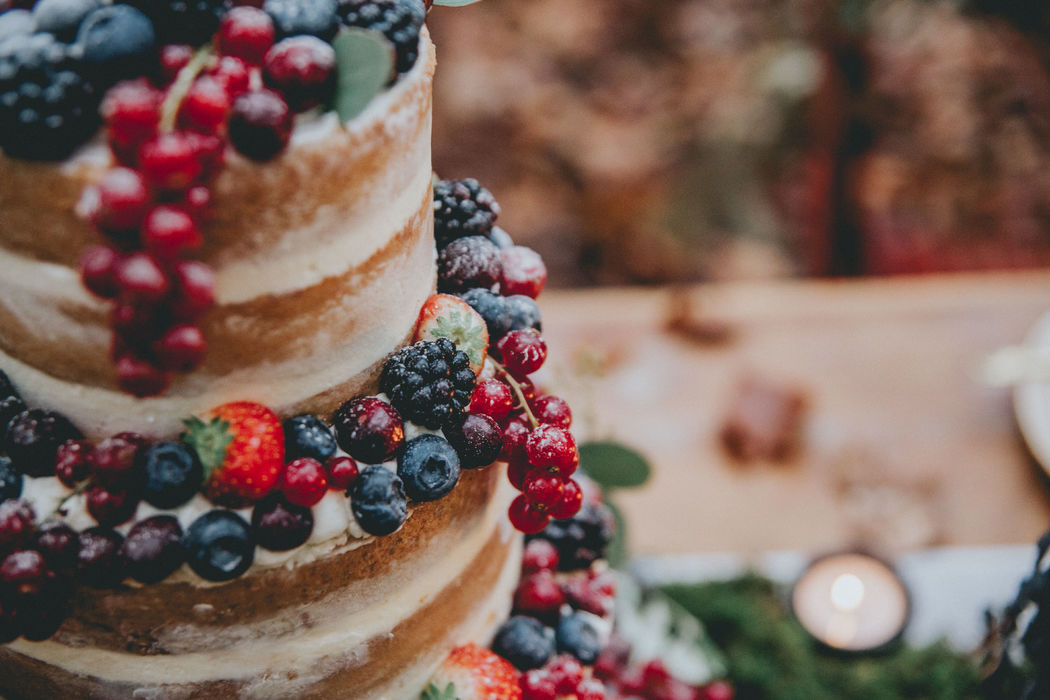 Semi Naked Cake Rustiek
