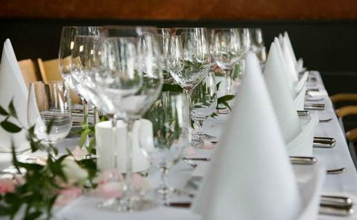 Beispiel: Tischdekoration, Foto: La Tavola e Castelloteca.