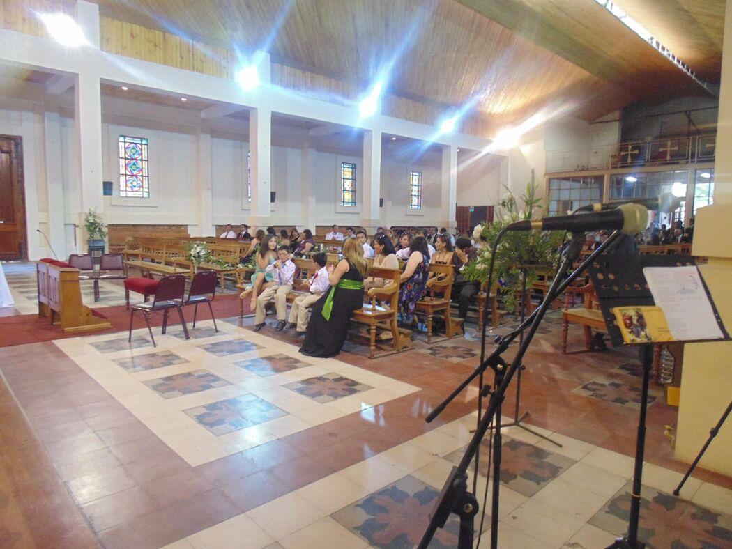 Boda en Iglesia San Agustín, Talca - Enero de 2015.