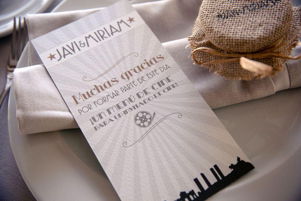 We Are. - diseño de minuta. Diseño, decoración y producción.