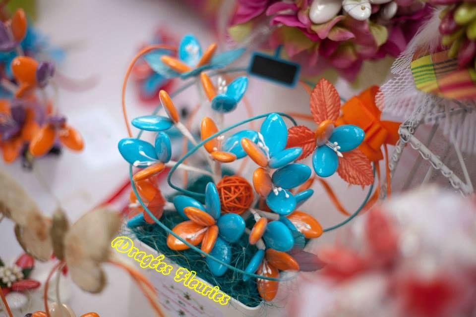Dragées Fleuries idée cadeau ou centre de table