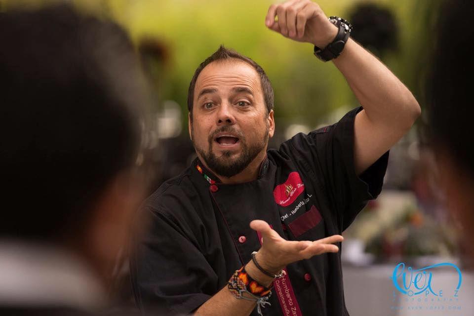 Chef Humberto Zaragoza