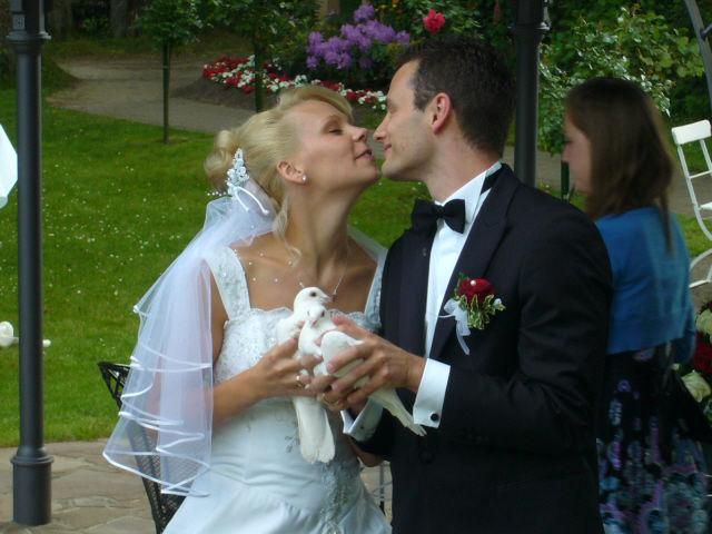 Hochzeitstauben Uwe Penkert