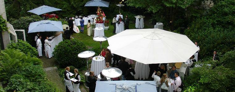 Beispiel: Hochzeitsdekor, Foto: Kuffler Catering.