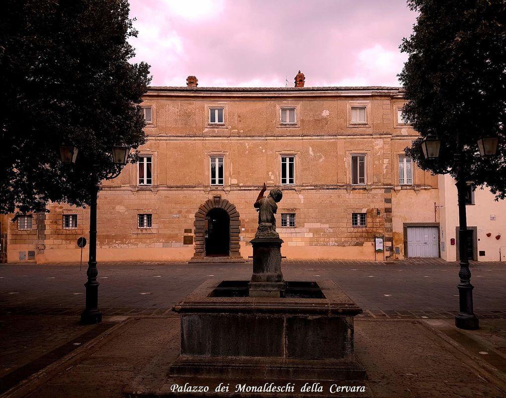 Palazzo Monaldeschi, Lubriano