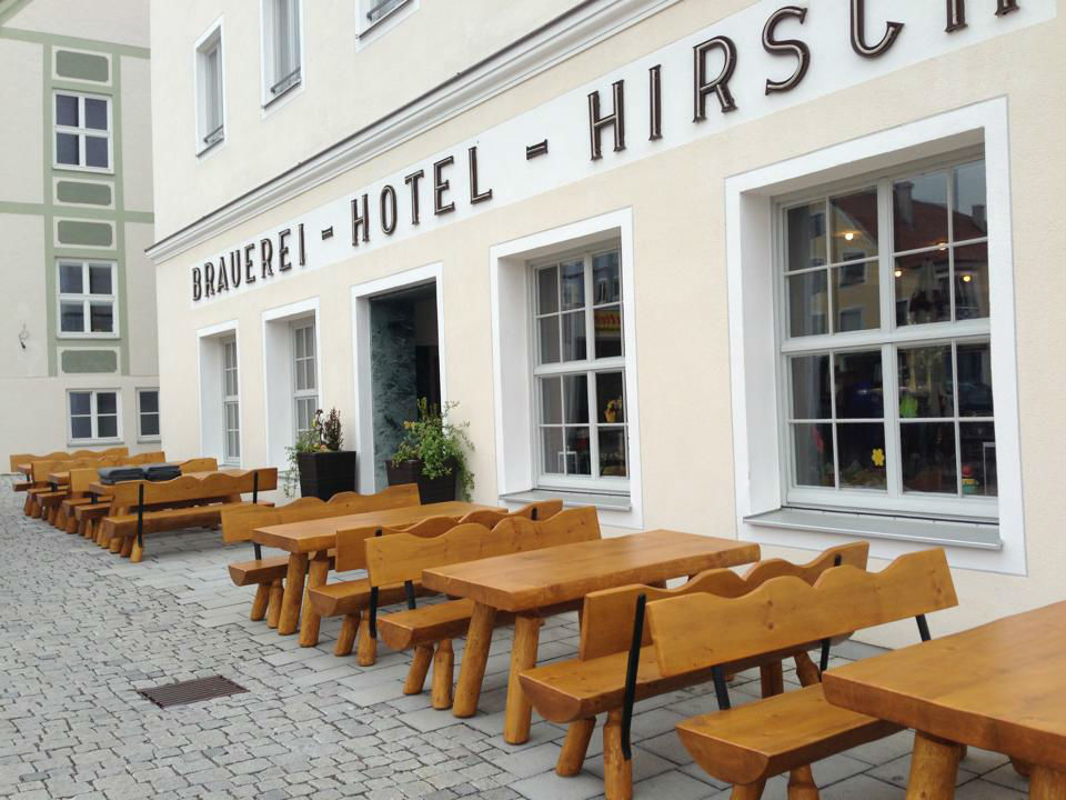 Beispiel: Außenansicht, Foto: AKZENT Brauerei Hotel Hirsch.
