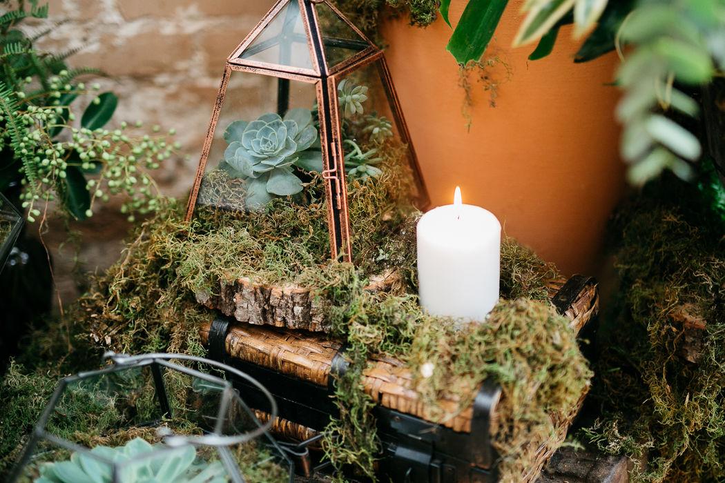Decoração Casamento Cris Flor   Foto por Aline Ferreira