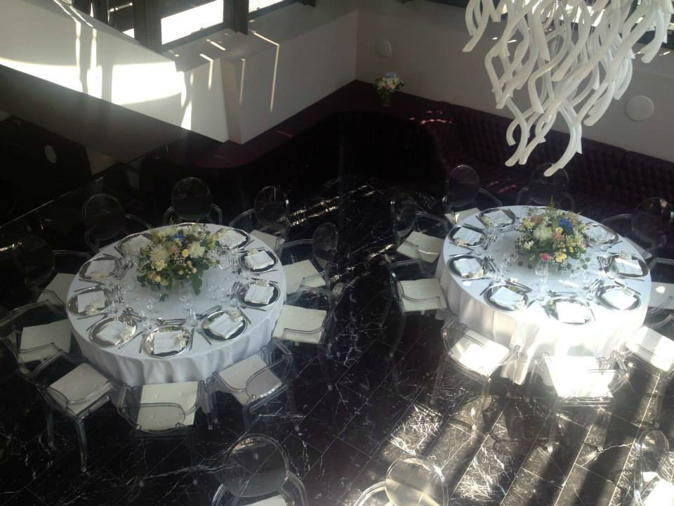 Beispiel: Hochzeitsbankett, Foto: Palais Sanssouci.