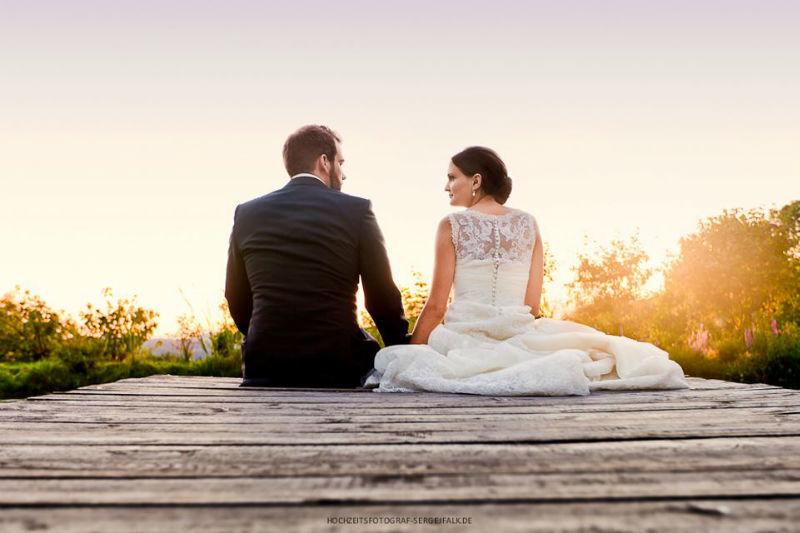 Beispiel: Ihr Hochzeitsfotograf für professionelle Fotos, Foto: Sergej Falk.
