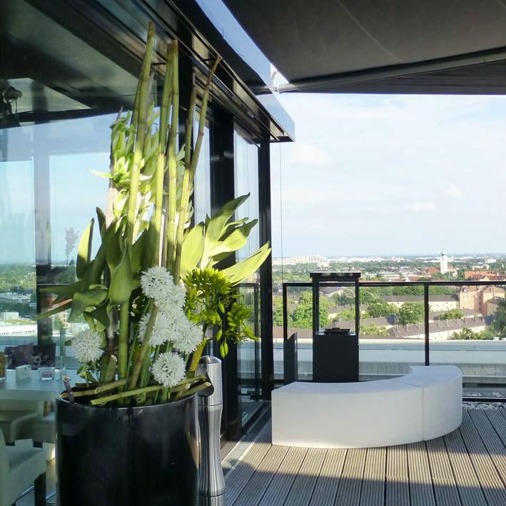 Beispiel: Blumendekoration, Foto: Unikorn Catering & Events.