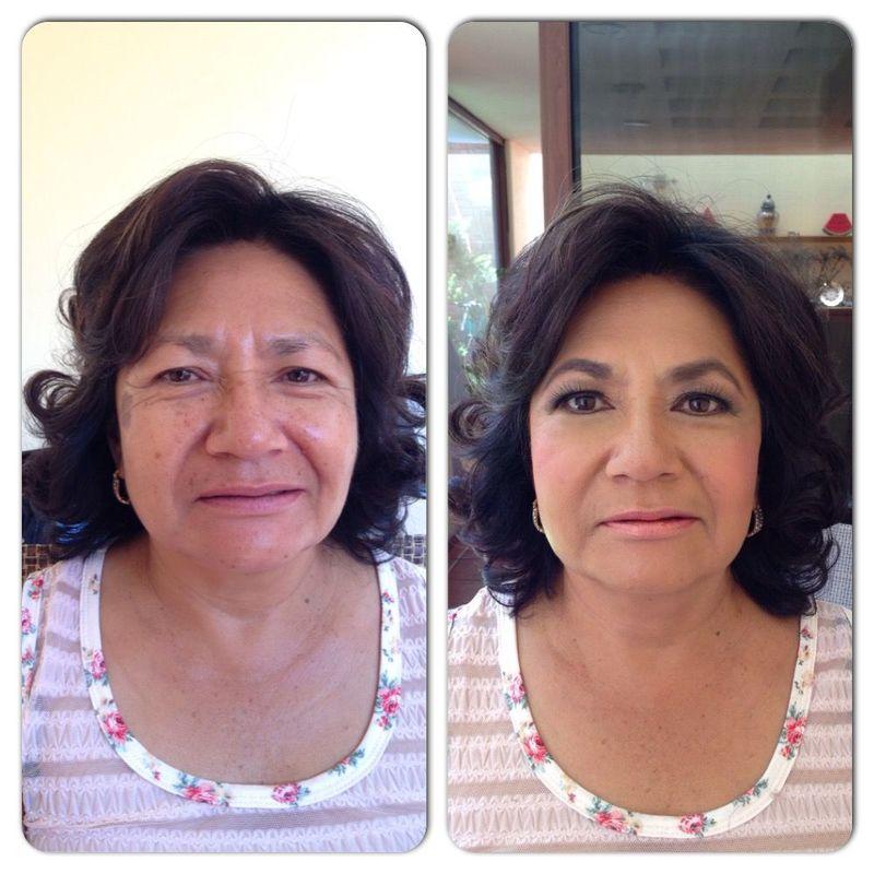 Mature skin makeup