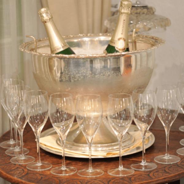 Beispiel: Champagner, Foto: Landhaus Kuckuck.