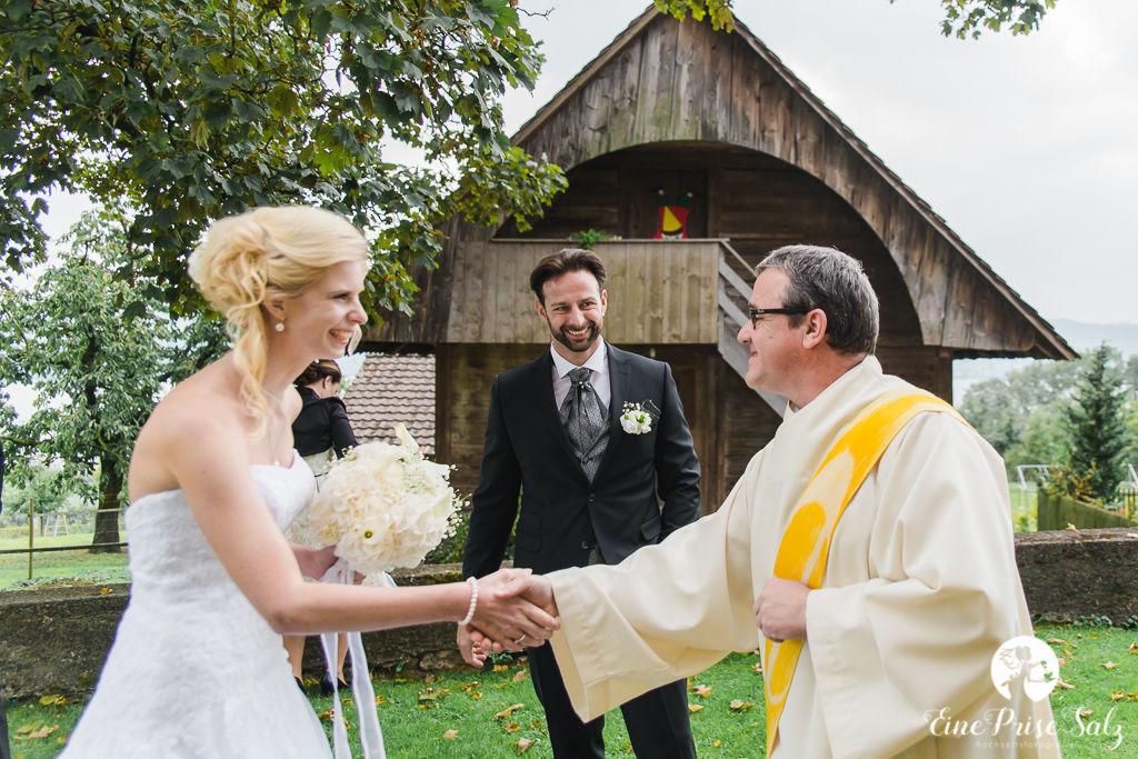 Hochzeitsreportage: Gratulationen