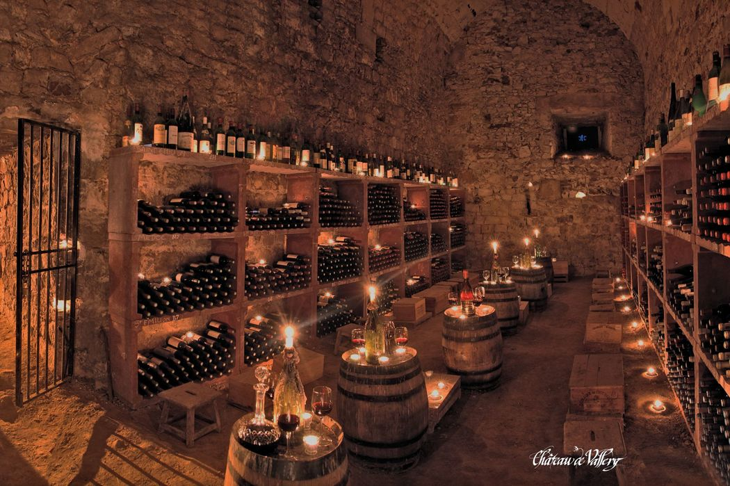 Caves médiévales - Château de Vallery