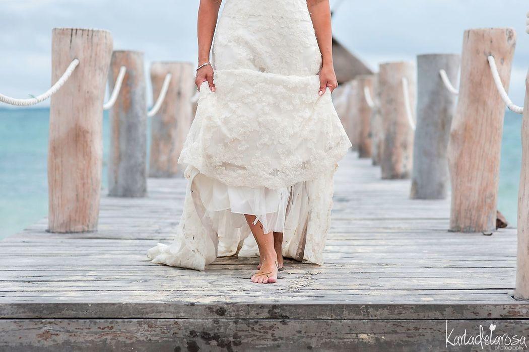Karla De la Rosa Photography, trash the dress The Beloved Cancún