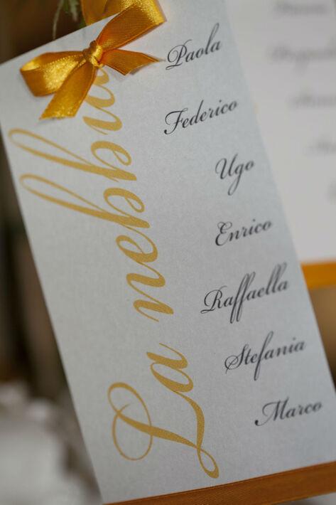 Matrimonio autunnale - Tableau albero