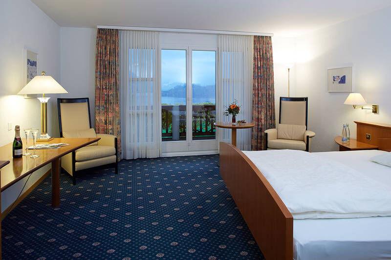 Beispiel: Hotelzimmer, Foto: Hotel Waldheim Risch.
