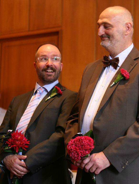 Beispiel: Blumenanstecker für den Herren, Foto: Florastyle.