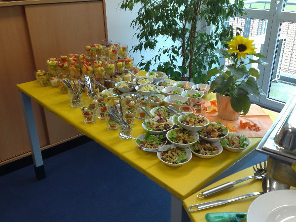 Beispiel: Kreative Dessertbuffets, Foto: Skyline Catering & Event's.
