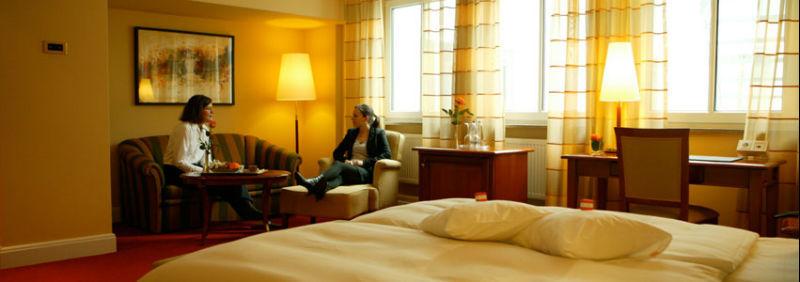 Beispiel: Hotelzimmer, Foto: Hotel Moosburger Hof.