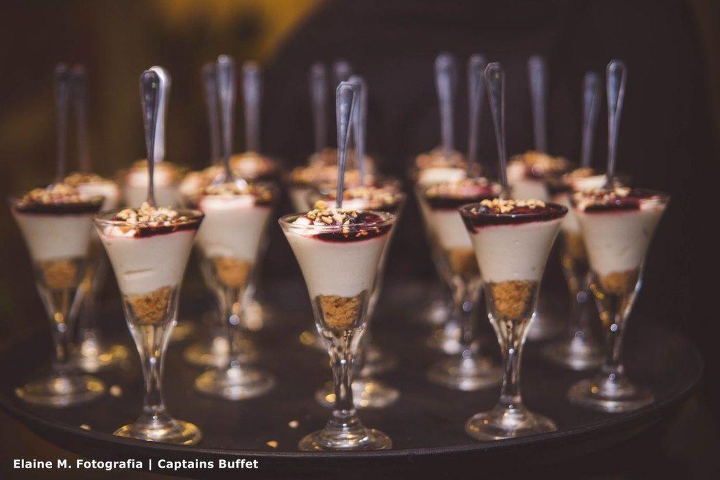 Cheesecake de amora - Sobremesa