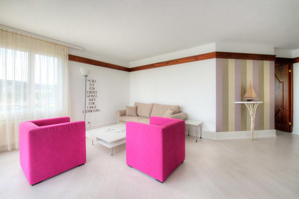 Beispiel: Eindruck von den Räumlichkeiten, Foto: Hotel Chlosterhof.