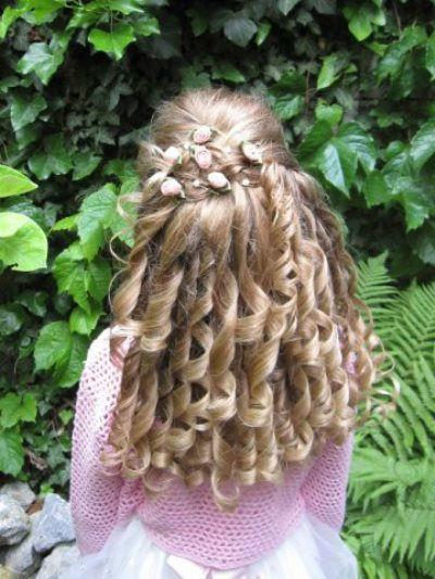 Beispiel: Traumhafte festliche Frisuren, Foto: Sabine Pleyer-Binder.