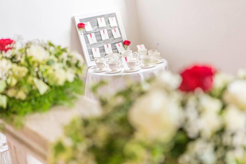 Tableau mariage tè dal mondo Kreativa Eventi