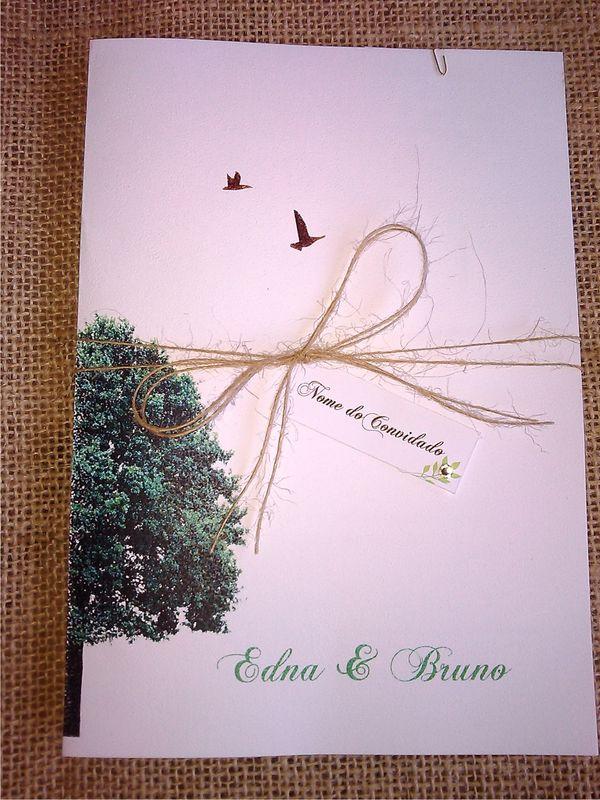 Convite Árvore da Vida