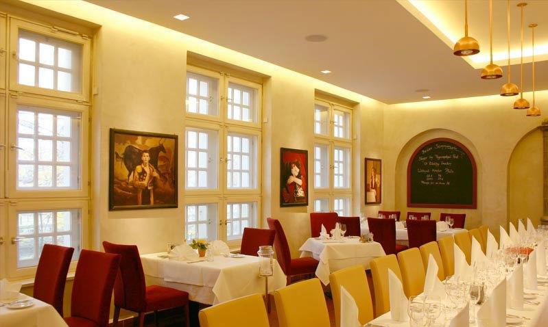 Beispiel: Tischaufteilung - Restaurant, Foto: Altes Zollhaus.